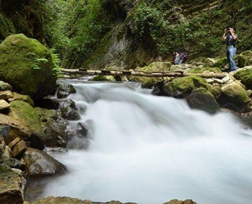 Río Escanela - Puente de Dios