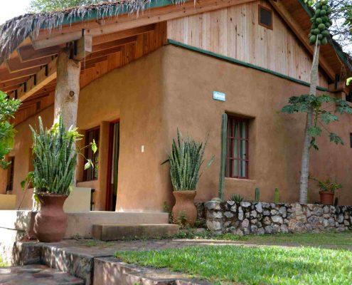 Caba as centro tierra sierra gorda ecotours turismo consciente - Cabanas de madera los pinos ...