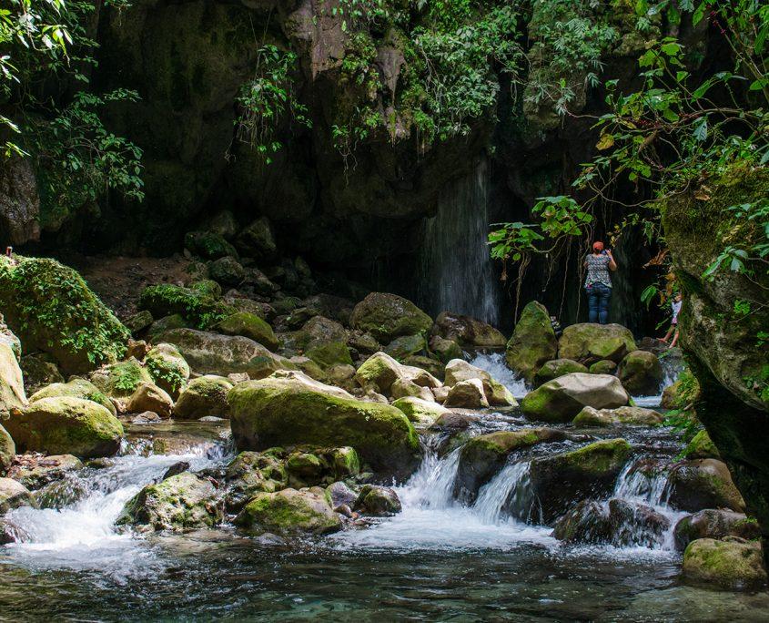 Río Escanela Puente de Dios